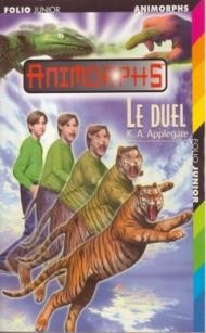 Animorphs T26 Le duel.jpg