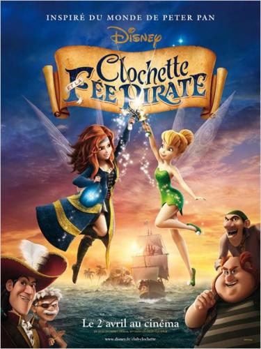Clochette et la fée pirate affiche.jpg