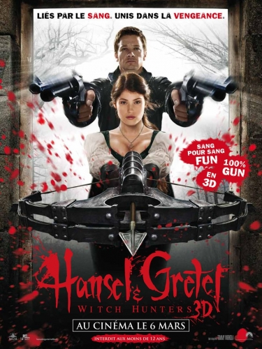 Hansel et Gretel  Witch hunters affiche.jpg